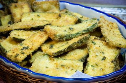 Parmesan Zuchinni Crisps