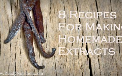 8 Recipes For Making Homemade Extracts