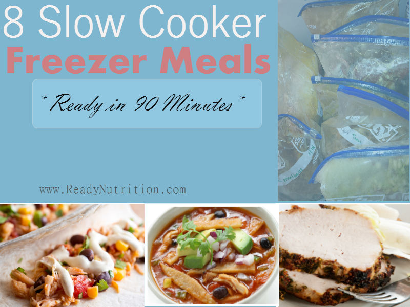 8 Slow Cooker Freezer Meals Made From Leftovers
