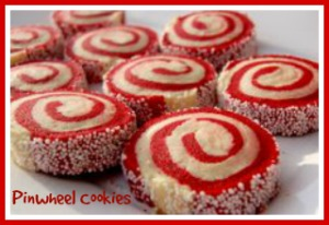 12 Days of Christmas Cookies: Festive Pinwheels