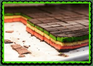 seven layer rainbow cookies