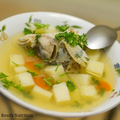 Frugal Living: Using Up Fish Scraps for Broth and Other Recipes