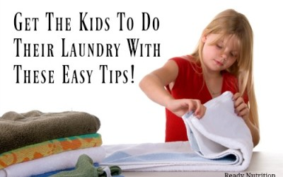 Get The Kids To Do Their Laundry With These Easy Tips!