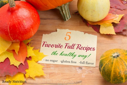 5 Classic Fall Recipes That Can Be Made Healthier