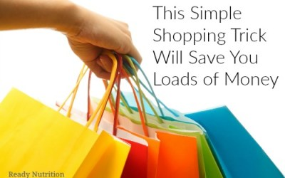This Simple Shopping Trick Will Save You Loads of Money