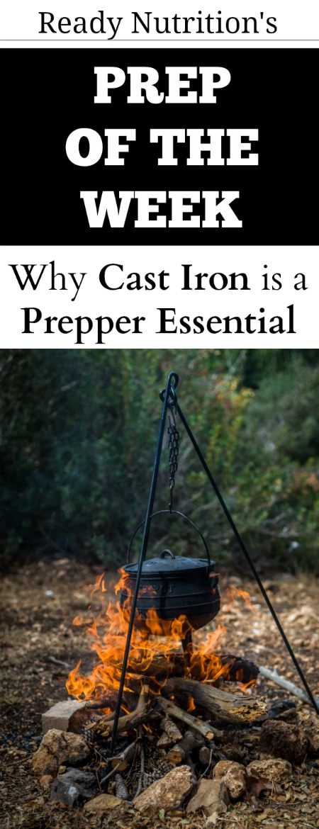 Ready-Nutrition-prep of the week - the importance of cast iron pin