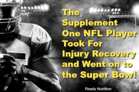 Backed by science and ancient Chinese medicine, this injury recovery supplement took one NFL player from injured on the sidelines to the Super Bowl.