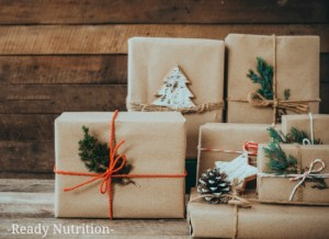 Here's a list of 10 things you can order to round out your Holiday Cheer with not relaxing your stance on being prepared!