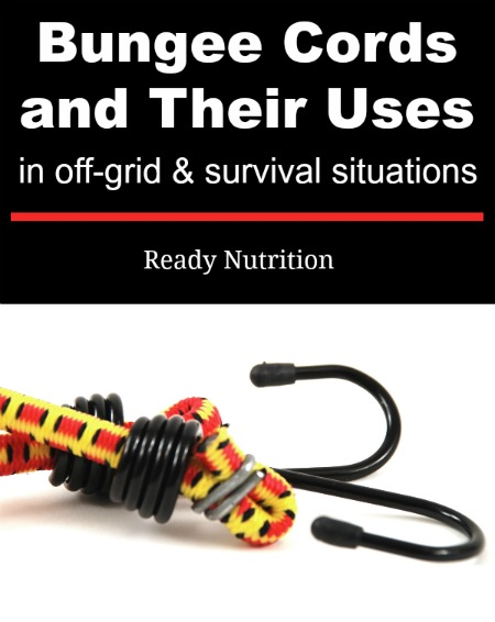 Bungee cords are a must-have in an off-grid/survival situation. Here are some great ideas for utilizing this multipurpose prep.
