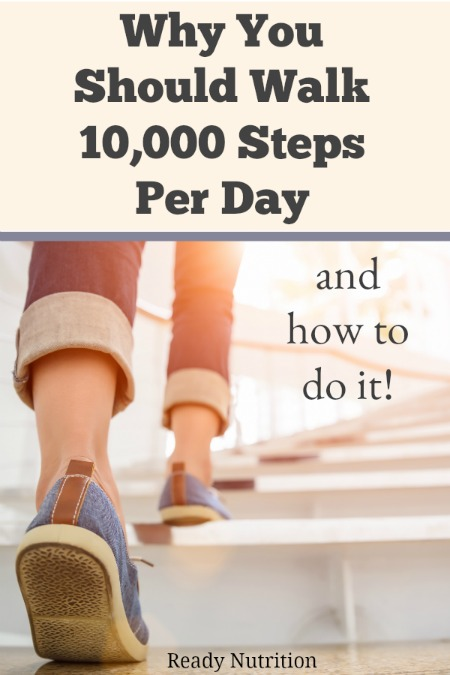 Walking provides many health benefits. Here's why walking is so important, and how to fit more steps into your day. #ReadyNutrition #FitnessGoals #PhysicalWellness