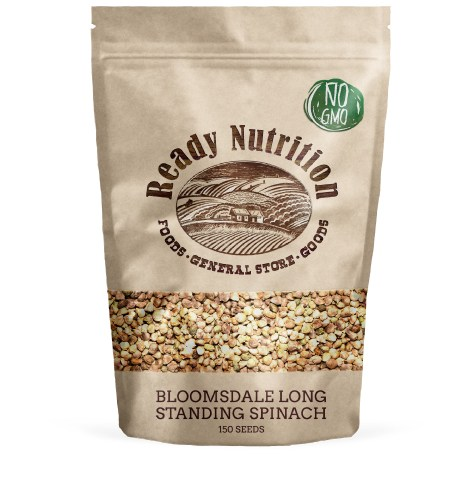 Ready Nutrition Bloomsdale Spinach Seeds