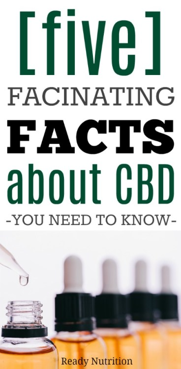 CBD, a naturally-occurring compound, possesses tremendous therapeutic value and is helping countless people worldwide manage a wide range of health and wellness challenges. #ReadyNutrition