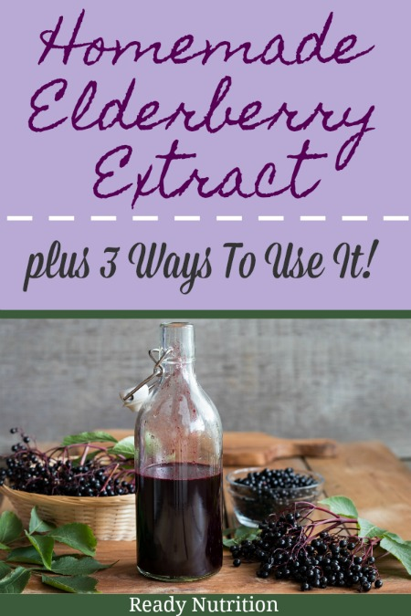 Elderberries have long been touted for their amazing health benefits. They are widely used in natural medicines and food. Elderberries are the rich, dark purple fruit of the elderberry shrub and have high levels of antioxidants making them perfect to help support the body through some ailments, such as the common cold. #ReadyNutrition