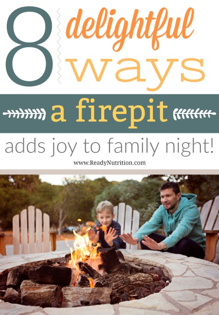 There are so many activities that can be done around a fire pit that you and your family will never get bored.