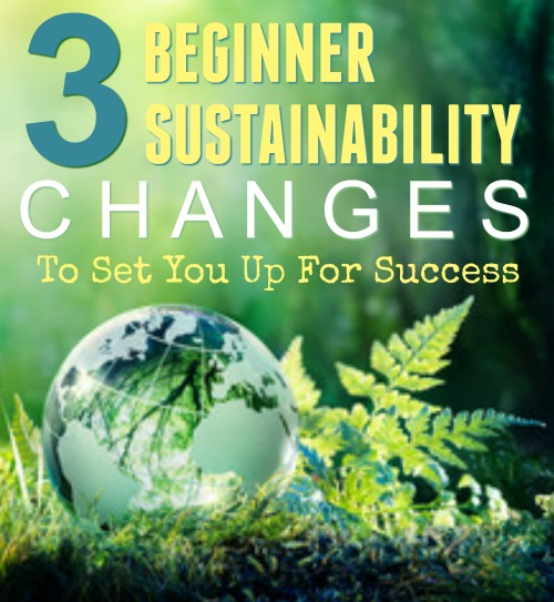 Being sustainable doesn't have to be done at once, and it often isn't convenient - at first. Here are a few steps for those just beginning the journey to sustainability. #ReadyNutrition