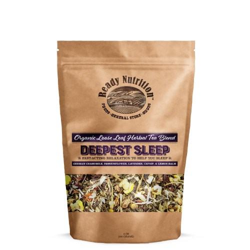 Ready Nutrition™ Deepest Sleep Loose Tea Blend for Bedtime