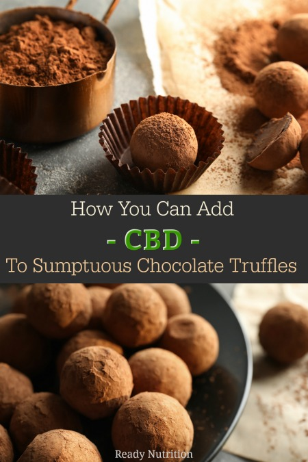 Here at Ready Nutrition, we are big fans of chocolate and CBD, so we thought...why not combine the two to create an indulgent treat that provides the benefits of both?