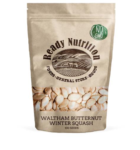 Waltham Butternut Winter Squash by Ready Nutrition