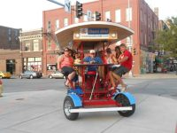 Omaha Patio Ride | Ready or Knot | Omaha Bridal Shop