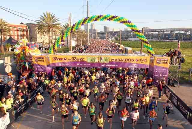 The New Orleans Marathon is one of the best first marathons.