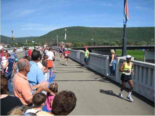 The Wineglass Marathon is a great first marathon.