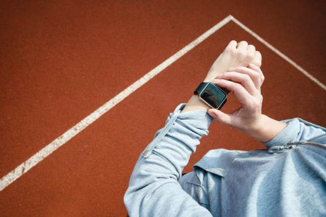 Set your GPS watch for your time trial.