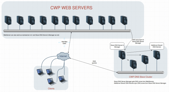 CWP_DNS_Cluster