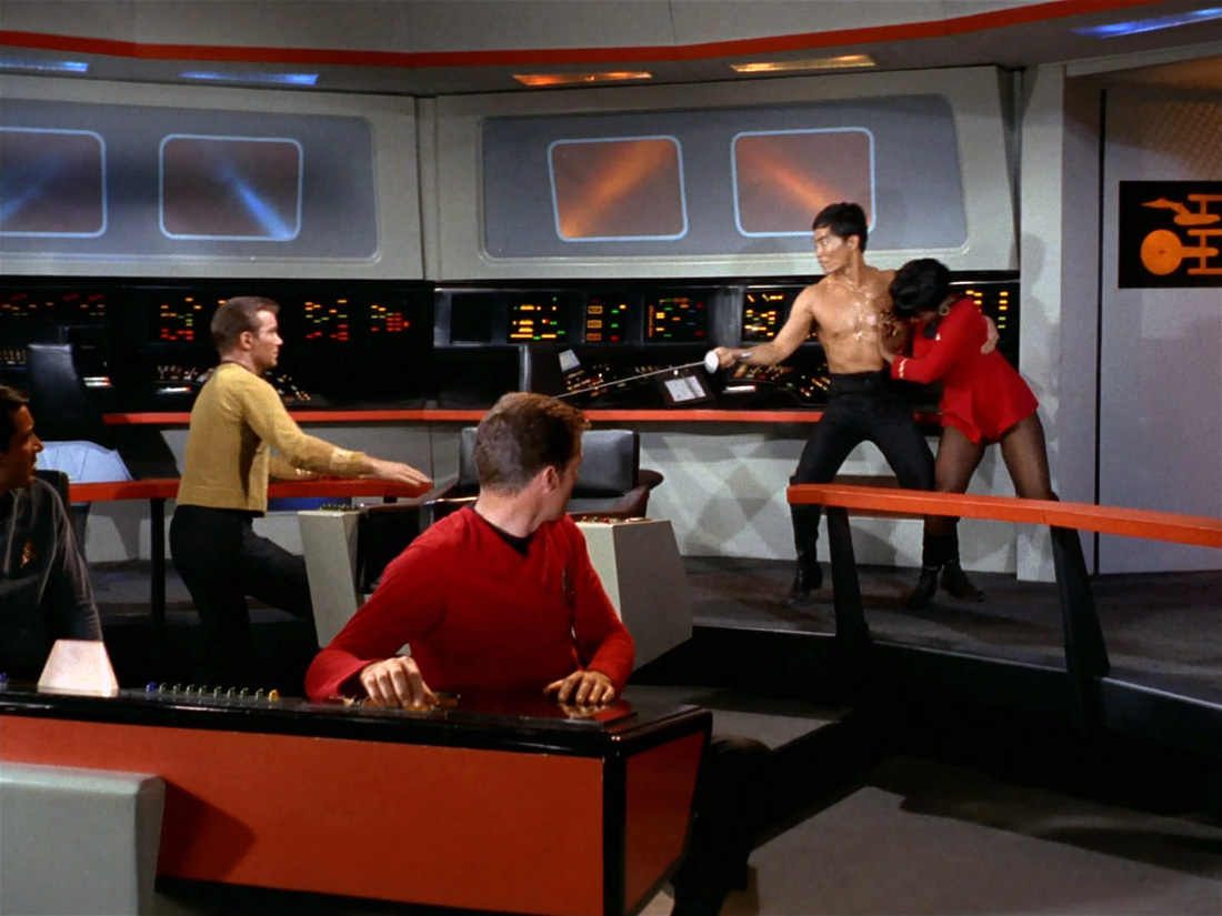 Naked Time Sulu