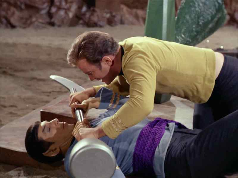AT 4 Kirk Spock Fight