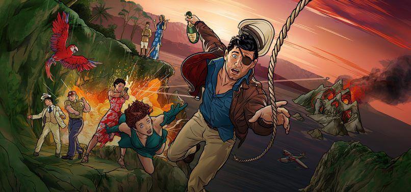 Archer - Danger Island - Strange Pilot - Review