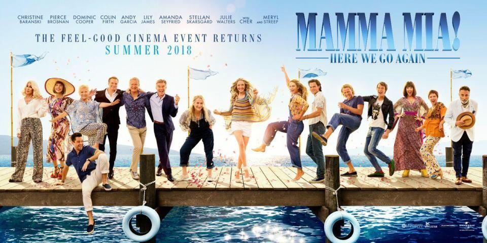 Mamma Mia! Here We Go Again - Trailer Reaction