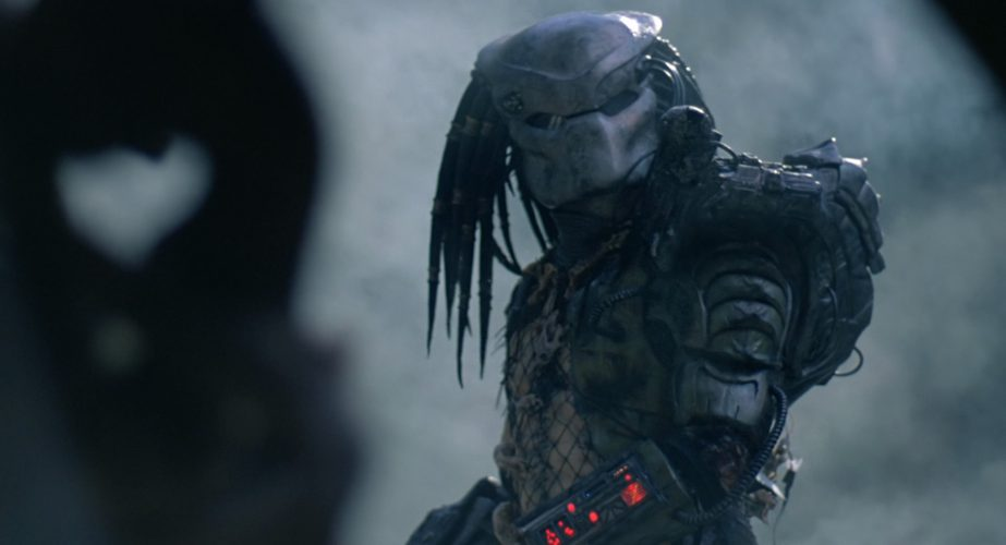 AVP Aliens vs Predator Hybrid Mixed Blood Predator Horror Action Figure Toy