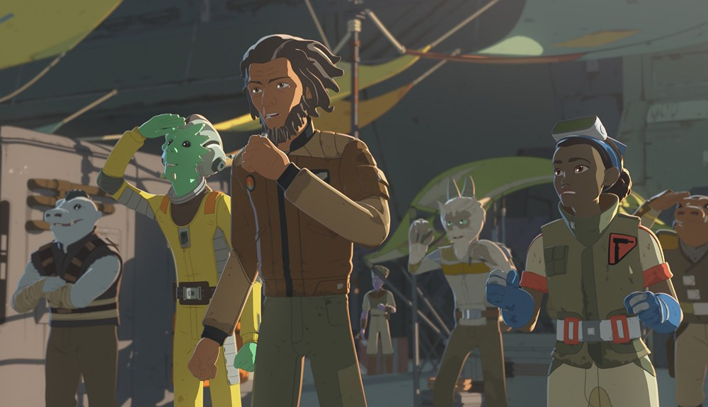 Star Wars Resistance The Recruit The Triple Dark Recap