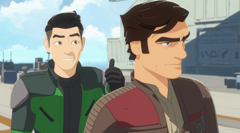 Star Wars Resistance Episode 3 Fuel for the Fire Recap