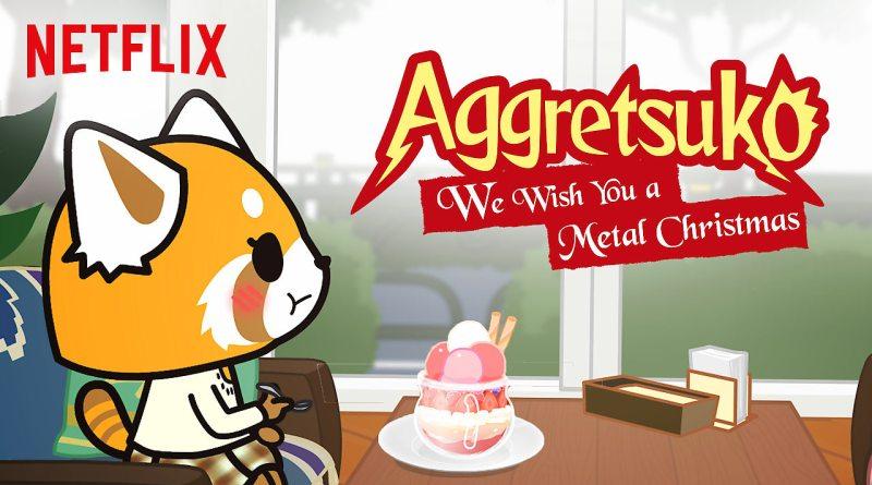 Aggretsuko Christmas.Aggretsuko We Wish You A Metal Christmas Netflix Anime