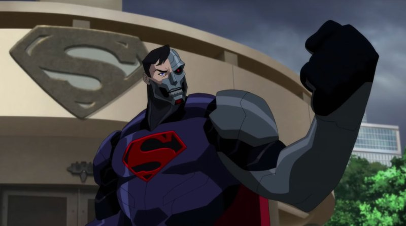 Reign of the Supermen DC Animated Film Review