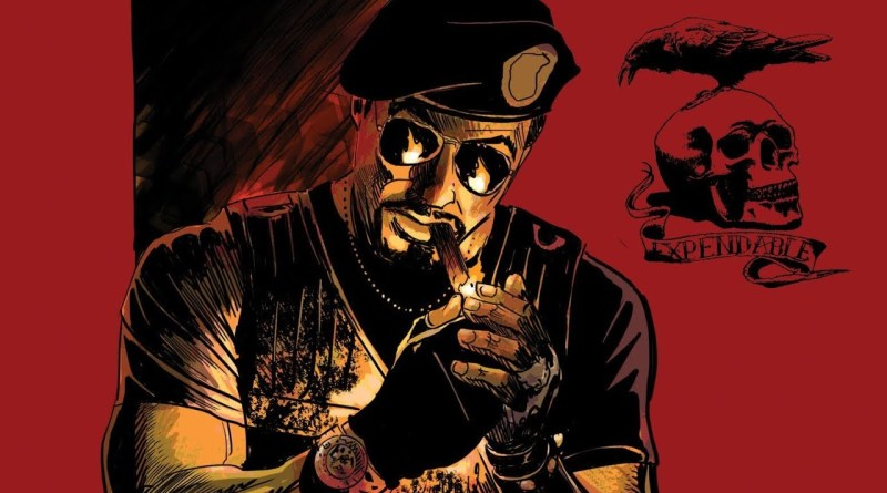 The Expendables Go To Hell Graphic Novel Is On it's Way!