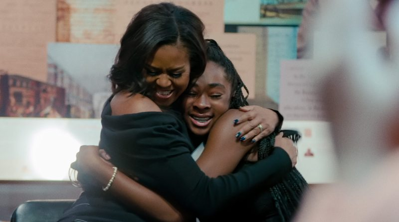 Netflix original documentary Becoming - Michelle Obama