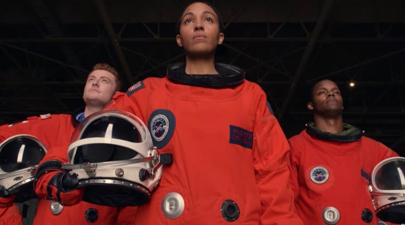 Netflix series Space Force season 1, episode 9 - IT'S GOOD TO BE BACK ON THE MOON