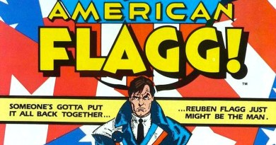 Classic Comic Rereads - American Flagg!
