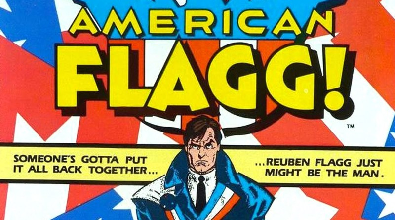 Classic Comic Rereads - American Flagg!