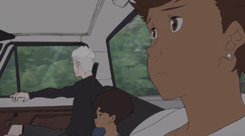 Netflix anime series Japan Sinks: 2020 season 1, episode 7 - The Dawn