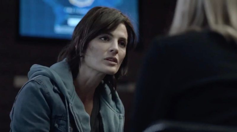 Amazon original series Absentia season 3, episode 2 - Capta Est