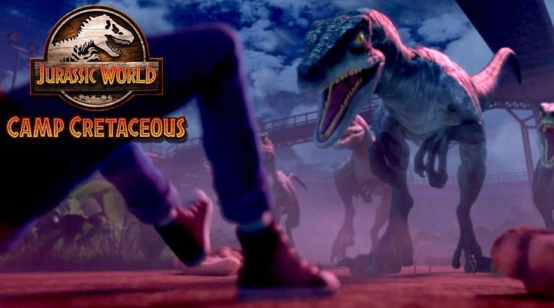 Netflix series Jurassic World: Camp Cretaceous season 1, episode 5 - Happy Birthday, Eddie