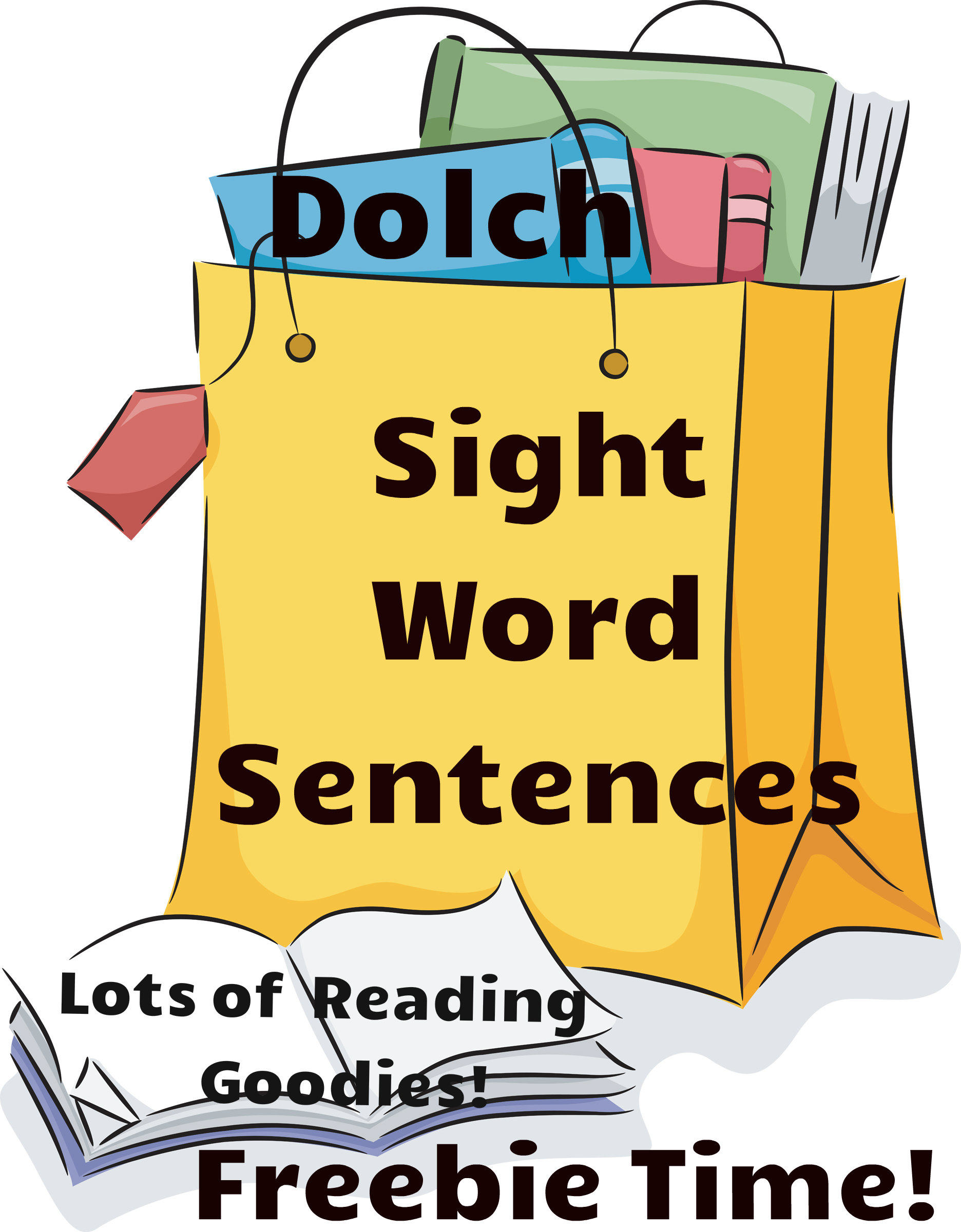hight resolution of Reading Resources   Free Dolch Sight Word Sentences   Readyteacher.com