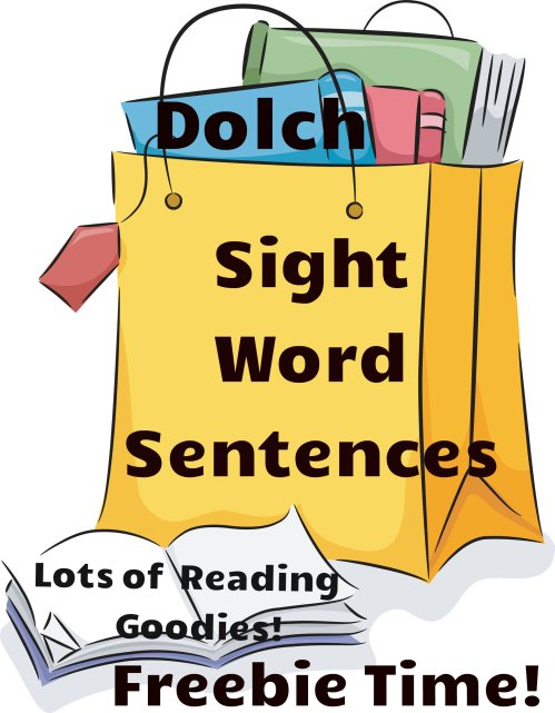 small resolution of Reading Resources   Free Dolch Sight Word Sentences   Readyteacher.com