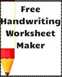Amazing Handwriting Worksheet Maker.html | Autos Weblog