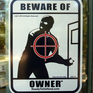 BRS-1D - 3-pack - Beware of Owner Window Decals-0