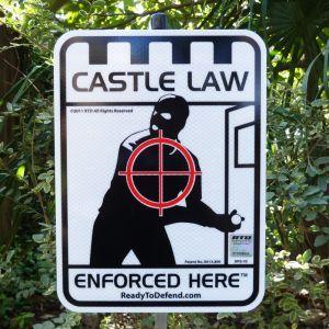 BRS-3S - Castle Law Enforced Here w 3M Reflecitve Surface-0