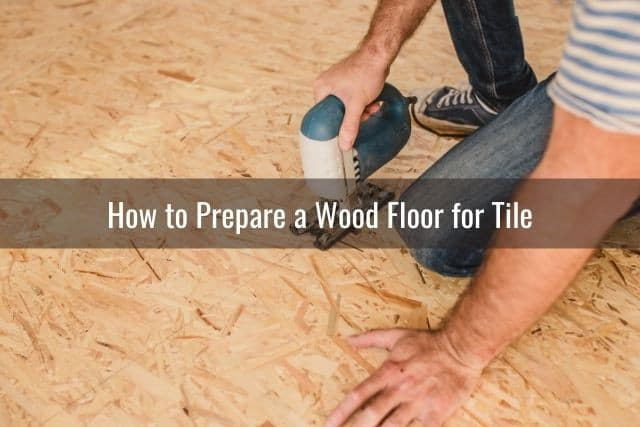 can you tile over hardwood or